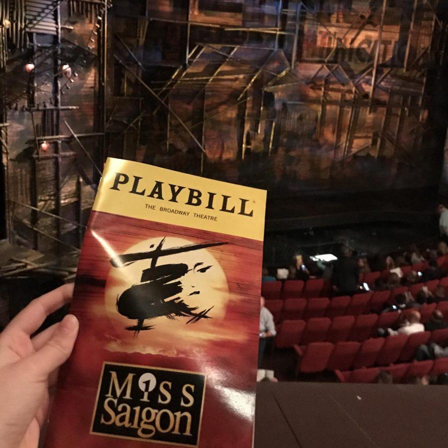Staff writer, Allison Lacianca, reviews the Broadway revival of Miss Saigon.