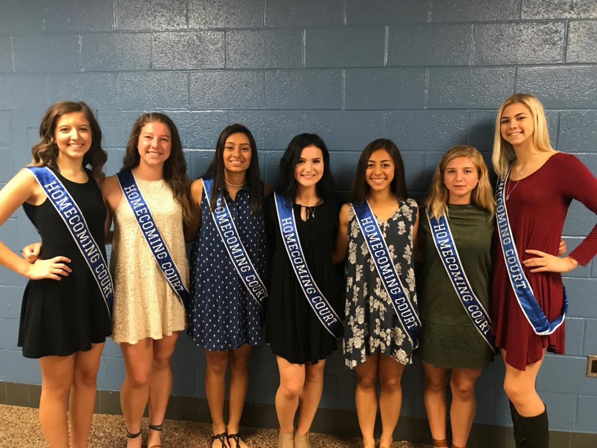 The 2017-18 NPHS Homecoming Queen candidates