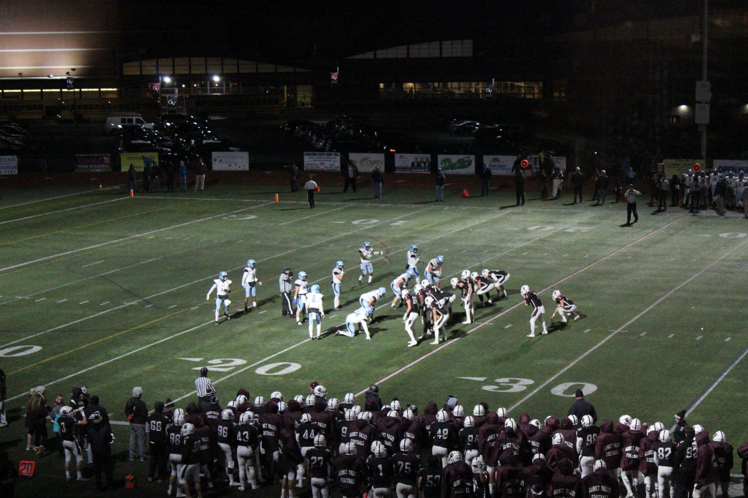 The Garnet Valley Jaguars edge the North Penn Knights in the fourth quarter
