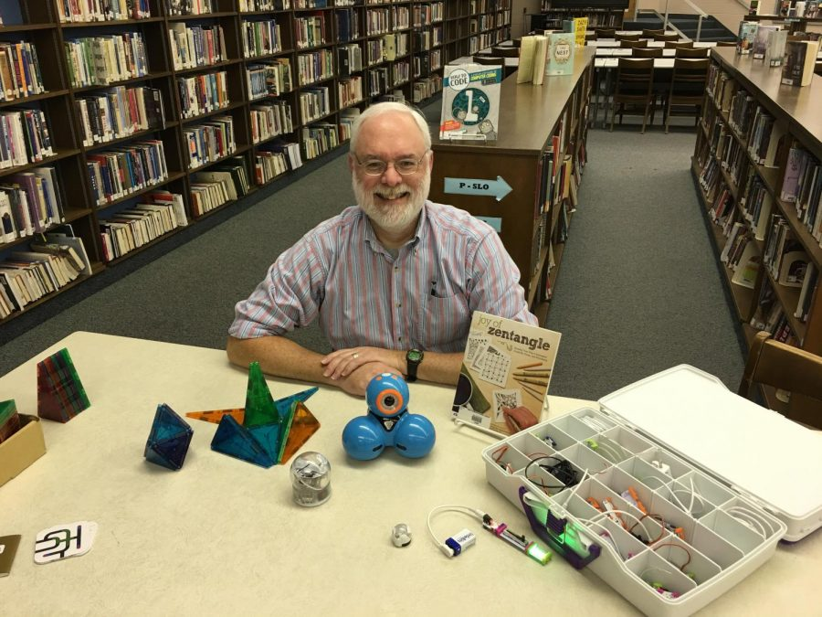 North Penn High School librarian, Mr. Joseph Ramsey, enjoys more than just the literature aspect of being a librarian. His past experiences have motivated him to bring a positive learning experience to North Penn students for the past 18 years.