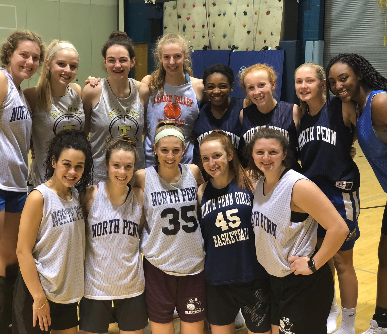 WINTER SPORTS PREVIEW- The 2017 North Penn Girls Basketball team is getting ready for a new season after losing key players from last year.