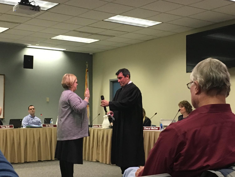 NPSD Board of School Directors: Juliane Ramic was sworn in as a Board member on Tuesday, January 9th.