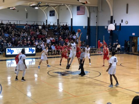 Knights hold off Indians in basketball double header