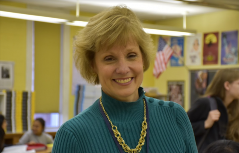 Mrs. Janet Kratz, a rock in the English Department