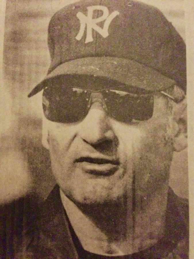 Carl Giuranna, shown here in photo from The Reporter, coached at NPHS until 1980. Giuranna passed away on Sunday, April 8th at the age of 89.