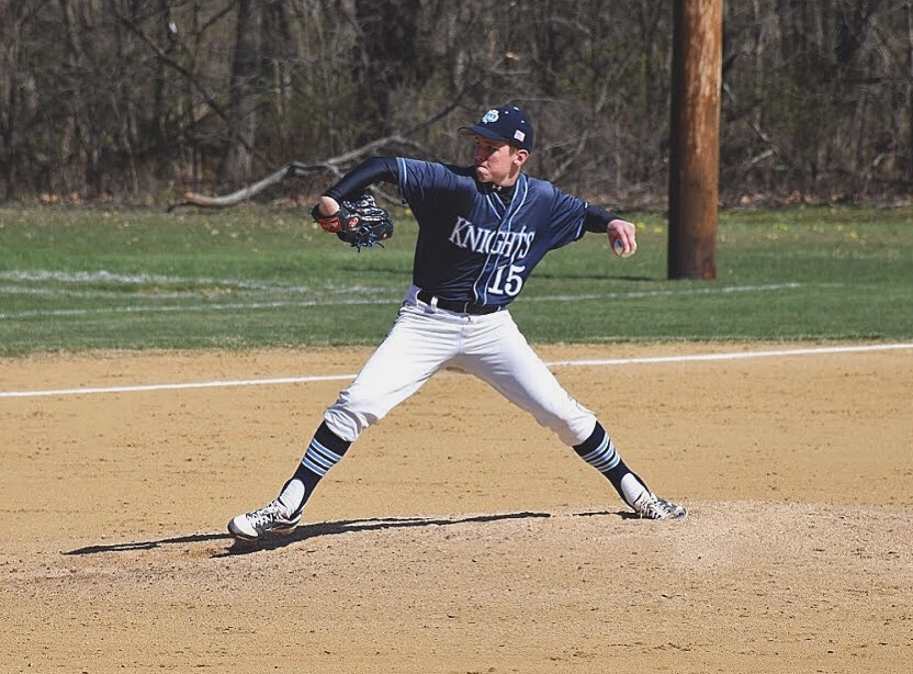 BASEBALL-+Junior+Joe+Valenti+recorded+his+first+varsity+win+with+a+2-hit+shutout+in+a+5-0+victory+over+the+Pennridge+Rams.