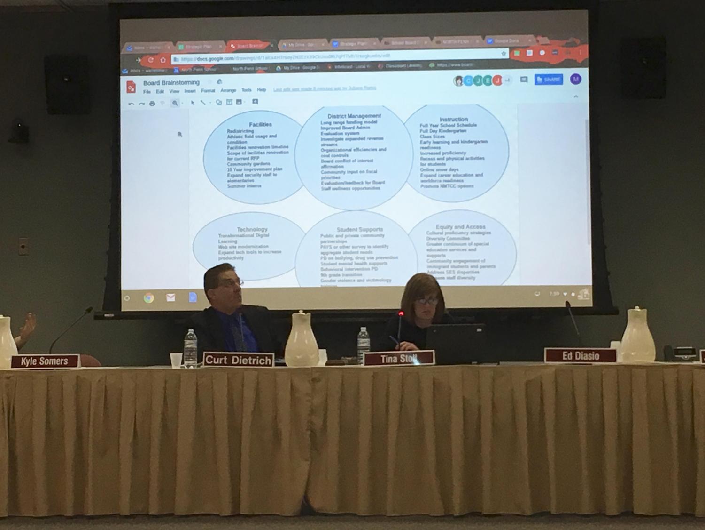 NP School Board discusses development of strategic plan