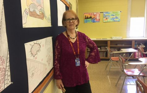 Mrs. Sue Cassel, a gem of the English department