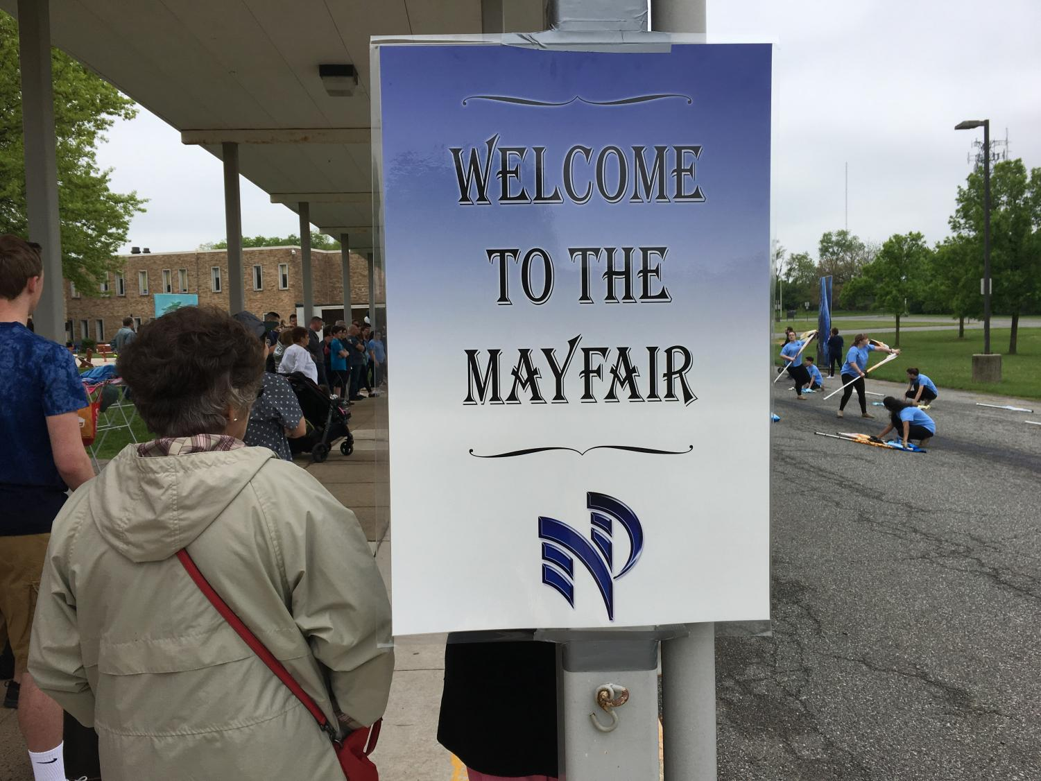 May Fair brought music and fun even on a rainy day!