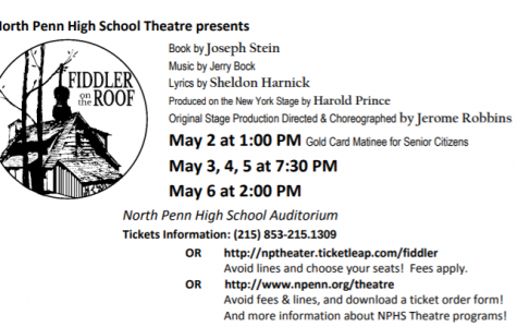 North Penn Theatre presents Fiddler on the Roof