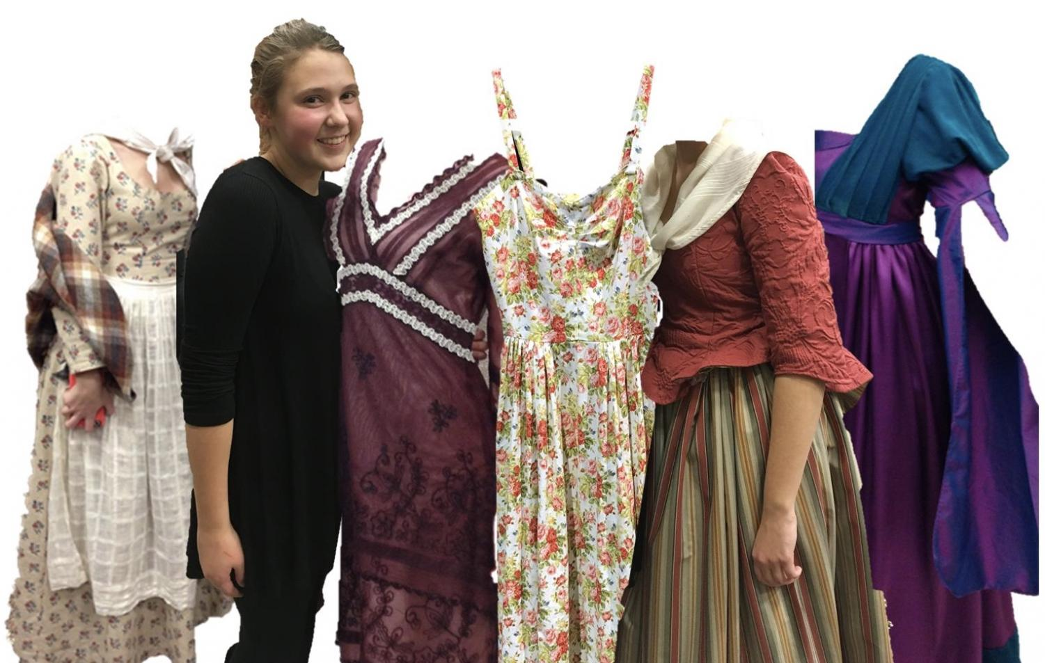Katie Krise and her designs that appeared in