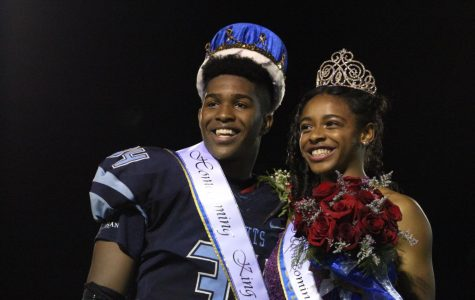 White and Faison crowned homecoming King and Queen