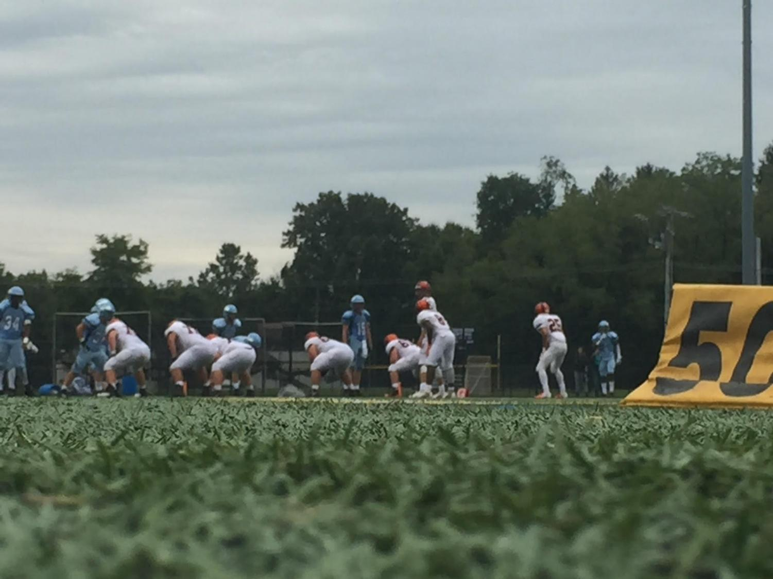 Saturated September Saturday: North Penn hosts Pennsbury on the NPHS turf field on September 8, 2018 NP defeated the Falcons 33-7.