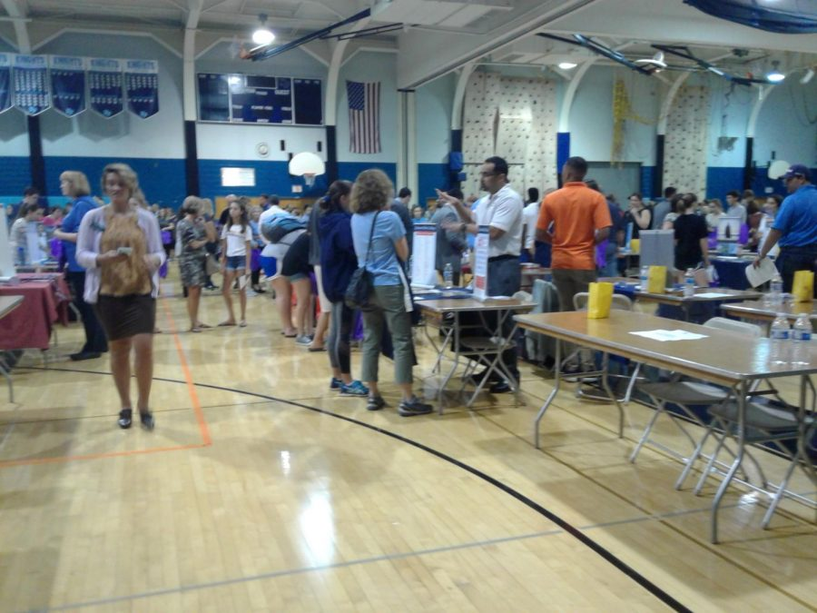 North+Penn+students+and+families+attend+the+annual+college+fair+a+NPHS+last+Thursday