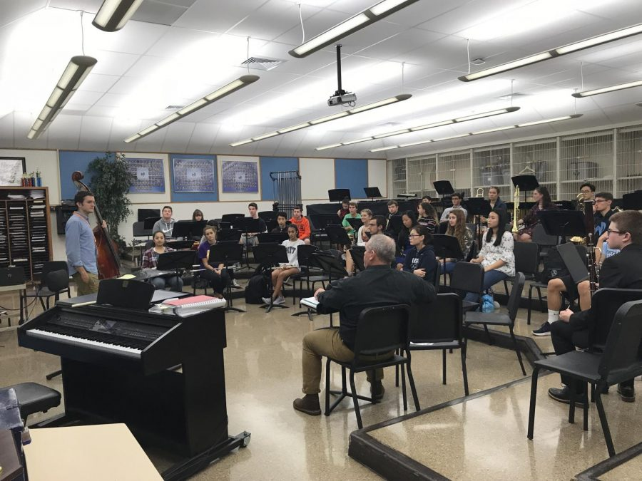 Students from North Penn and University of the Arts come together with a common love for music in Mr. Heller's room.