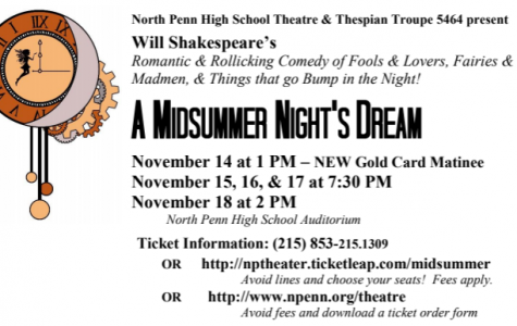 North Penn Theatre presents A Midsummer Night's Dream