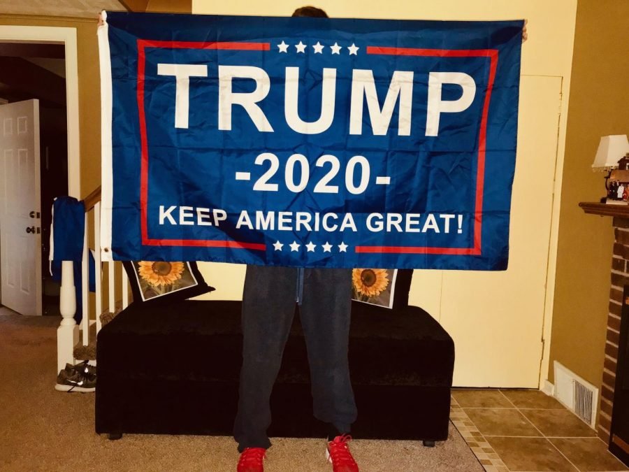 As a 17 year old supporter of President Trump, I face a lot of negative criticism, but I stand with the President and would do so again in 2020.
