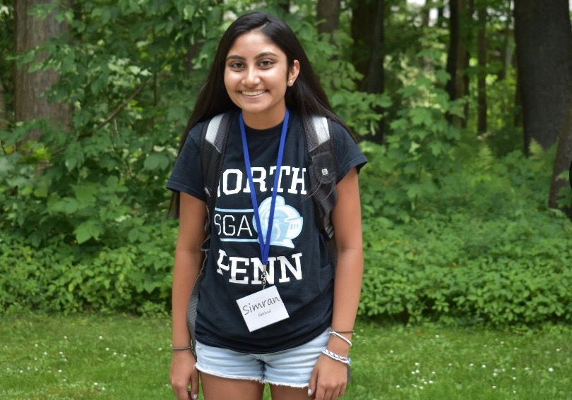 Rathod at a PASC summer leadership camp at University of Pittsburgh Johnstown.