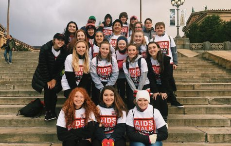 NPHS Thespians support Philly Aids Walk