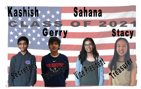 Meet your Class of 2021 officers