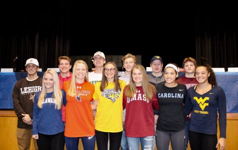 13 athletes sign National Letters of Intent