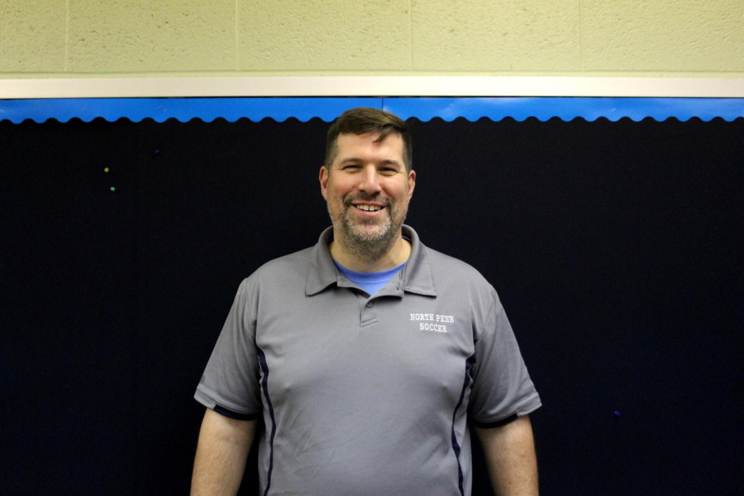 NPHS Social Studies Teacher Mr. Joel Evans, the 2017-18 Teacher of the Year, continues to inspire students in the classroom at NP.