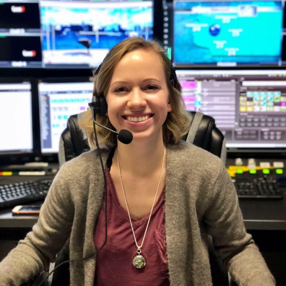 Becca Rosenblatt directing in Madison, Wisconsin.