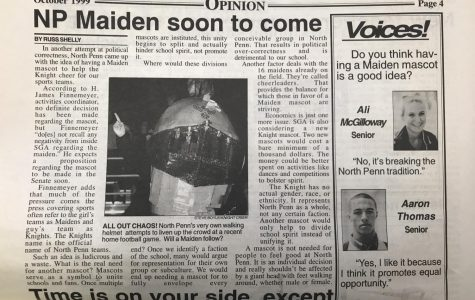 "Throwback Thursday: ""NP Maiden soon to come,"" by Russ Shelly 1999"