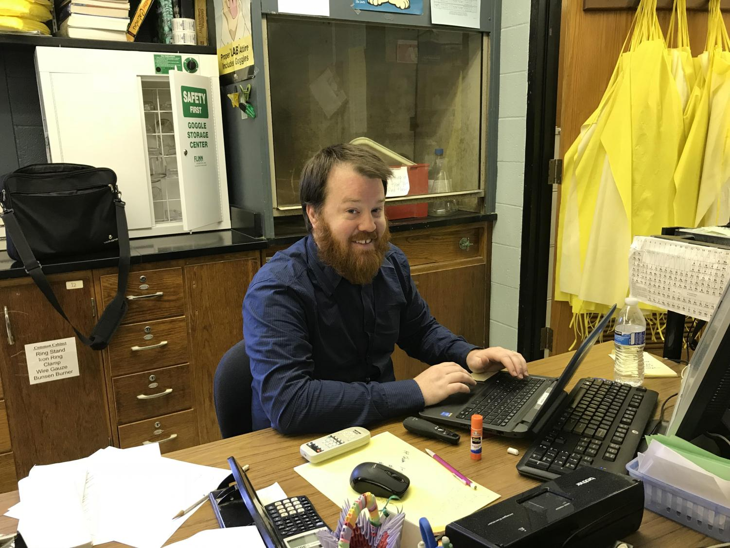 North Penn High School science teacher Mr. Robert Shea offers lessons that transcend just the science curriculum.