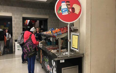 Stop by North Penn's new Grab-N-Go breakfast cart