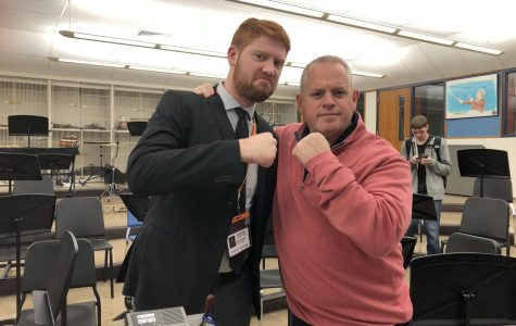 Mr. Kevin Blanke joins music department for student teaching opportunity