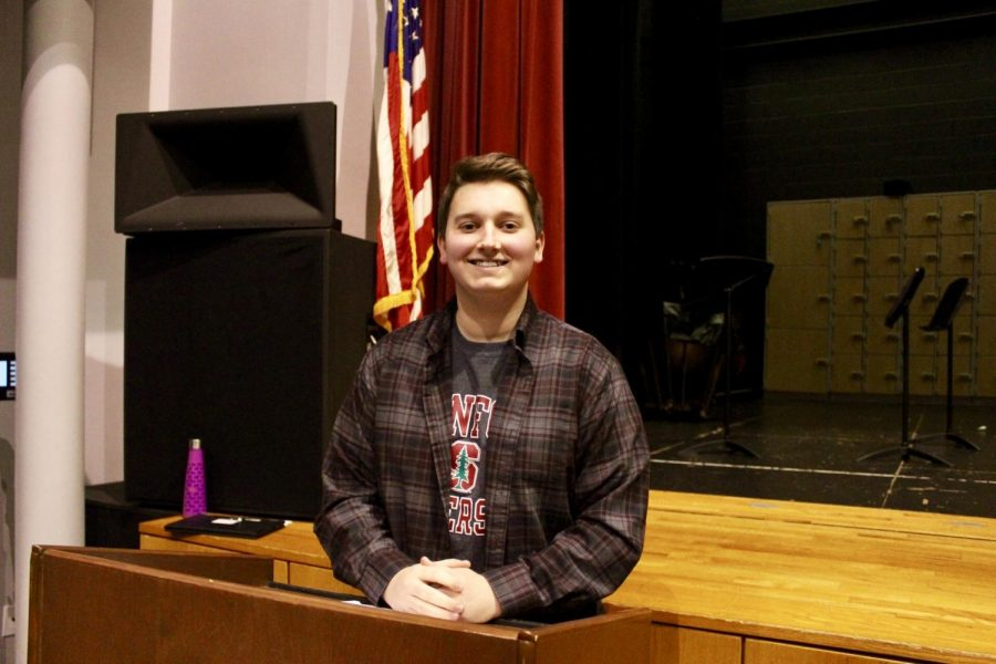 North Penn senior Billy Wermuth, gets accepted into his dream school after a heavily involved past four years.