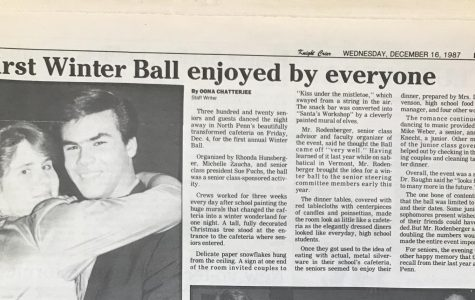 Throwback Thursday: First Winter Ball enjoyed by Everyone, 1987- Oona Chatterjee