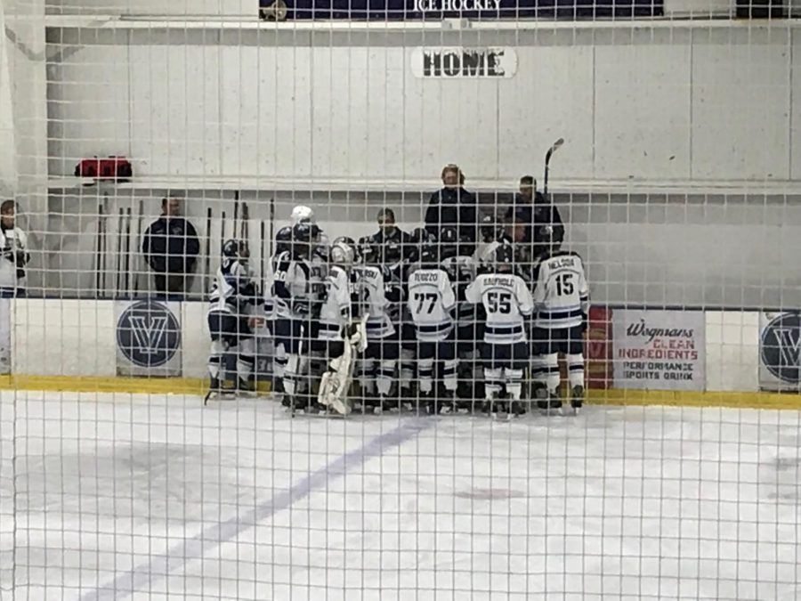 The North Penn ice hockey team hosts their Night with the Knights this Thursday.