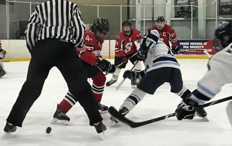 Knights skate by Indians in crosstown rivalry game