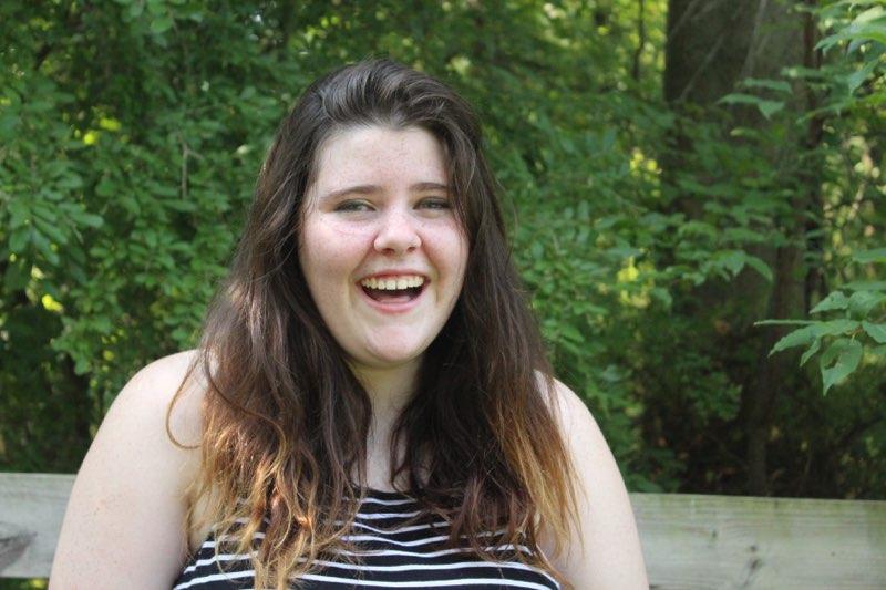 North Penn senior Bridget Gallagher, always with a smiling face.