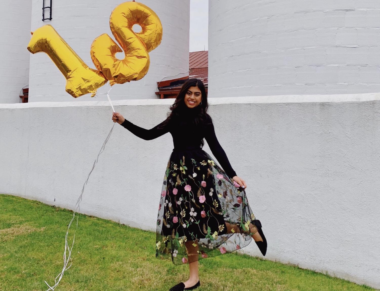 Fabbiha Afrin celebrates her 18th birthday.