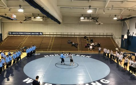 The North Penn Knights Wrestling Team.