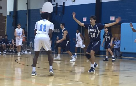 Three point barrage leads Knights to win