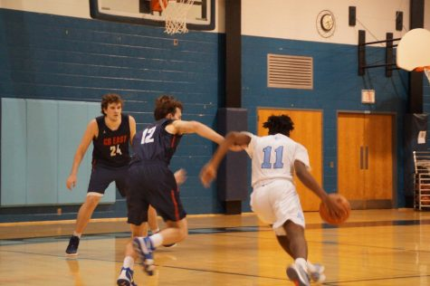 Knights lose by one in high tempo game
