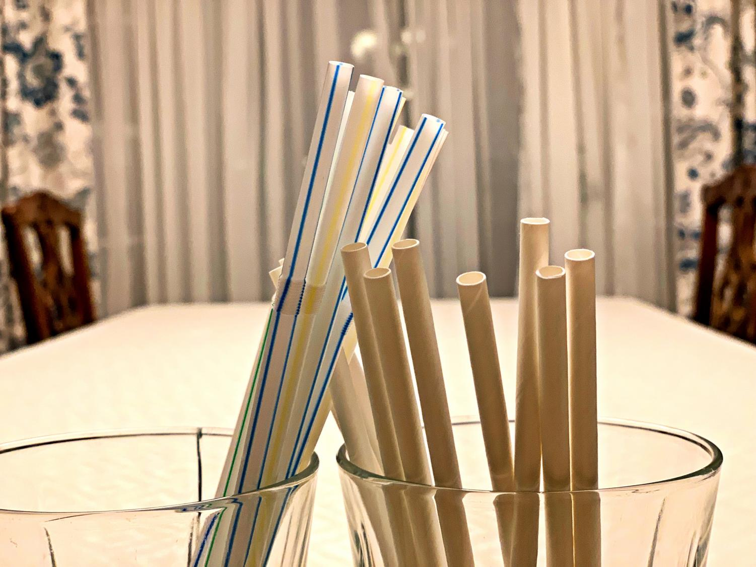 As more and more companies make the switch from plastic to paper straws, there's some controversy over the switch and whether it makes an impact on the environment.