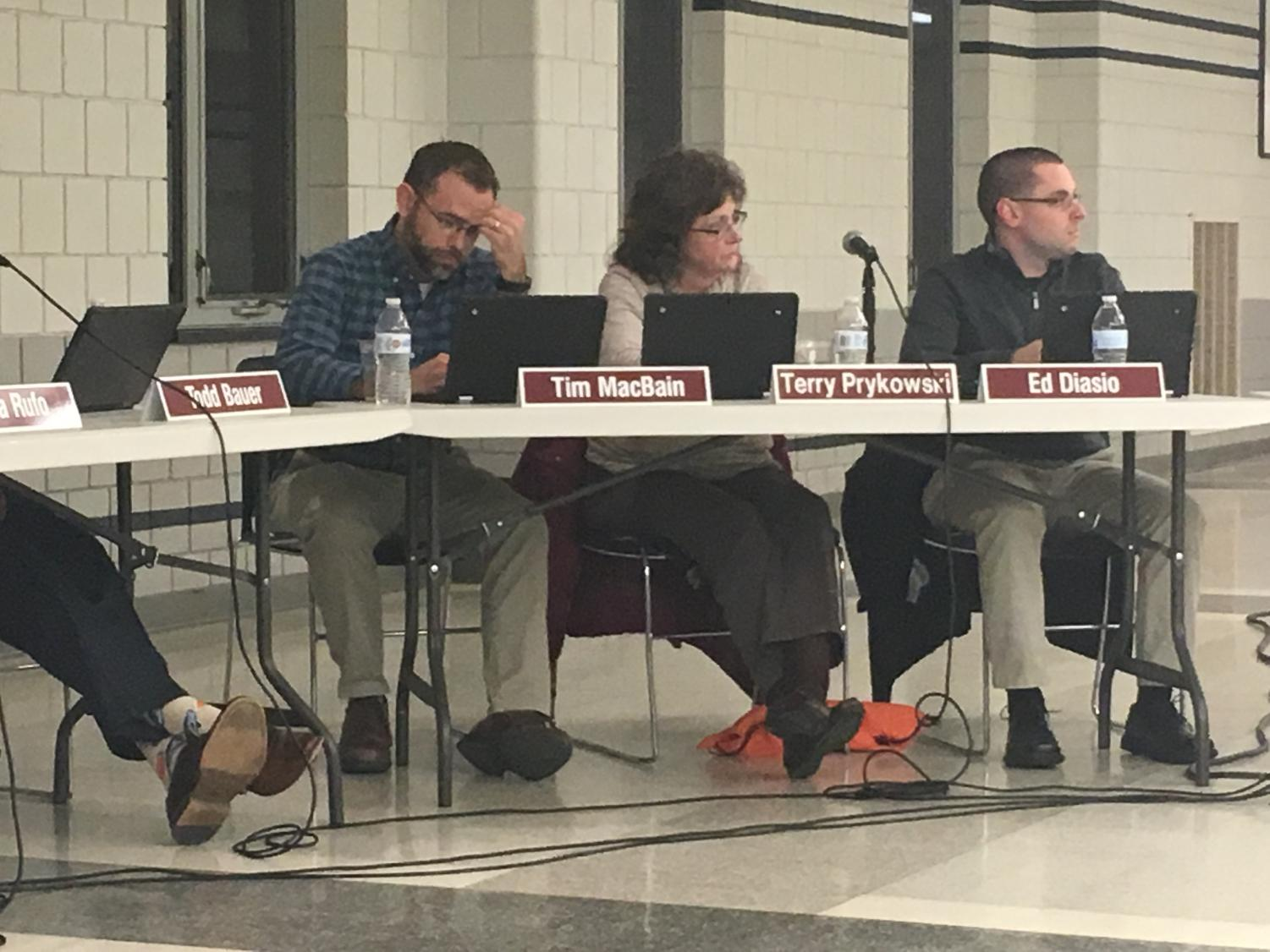 NPSB: The Board discussed facility needs and the benefits of moving 9th grade to the high school and 6th grade to the middle schools.