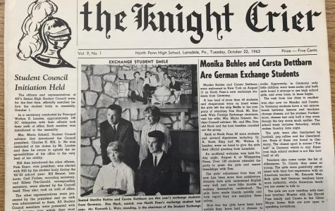 Throwback Thursday: Buhles and Dettbarn are German exchange students – 1963