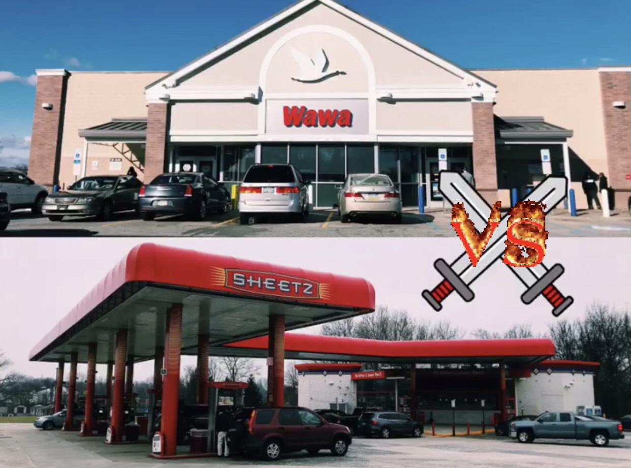NPHS students tackle the debate of which convenience store chain is the best: Wawa or Sheetz.