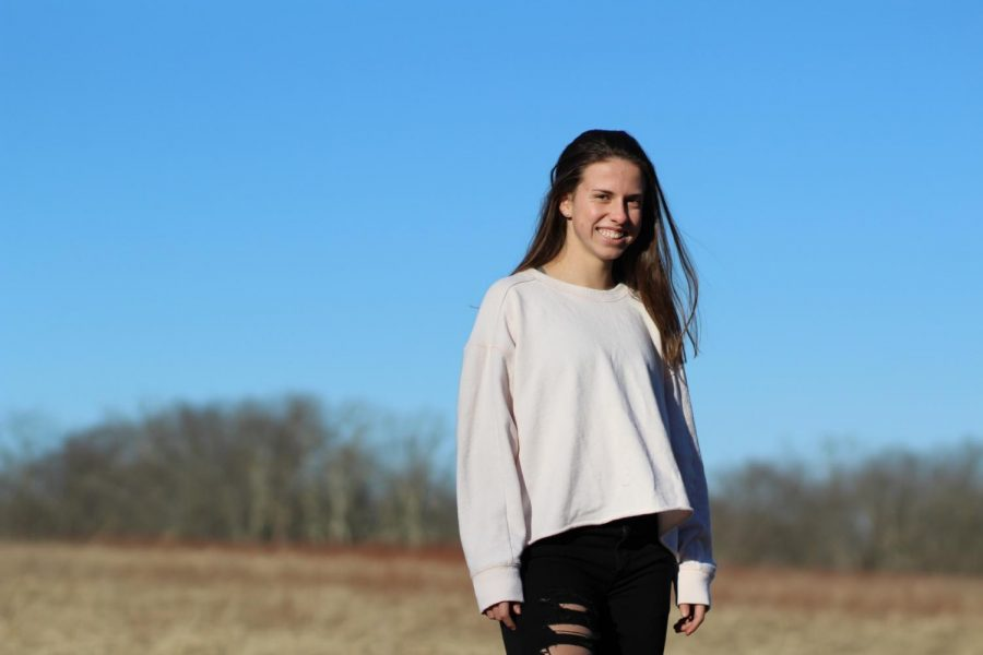 Senior Meghan Coulton is excited to see what her future brings her.
