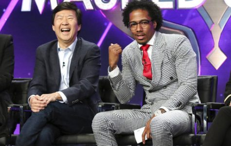 Ken Jeong, left, and Nick Cannon participate in