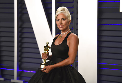 Lady Gaga, winner of the award for best orginial song