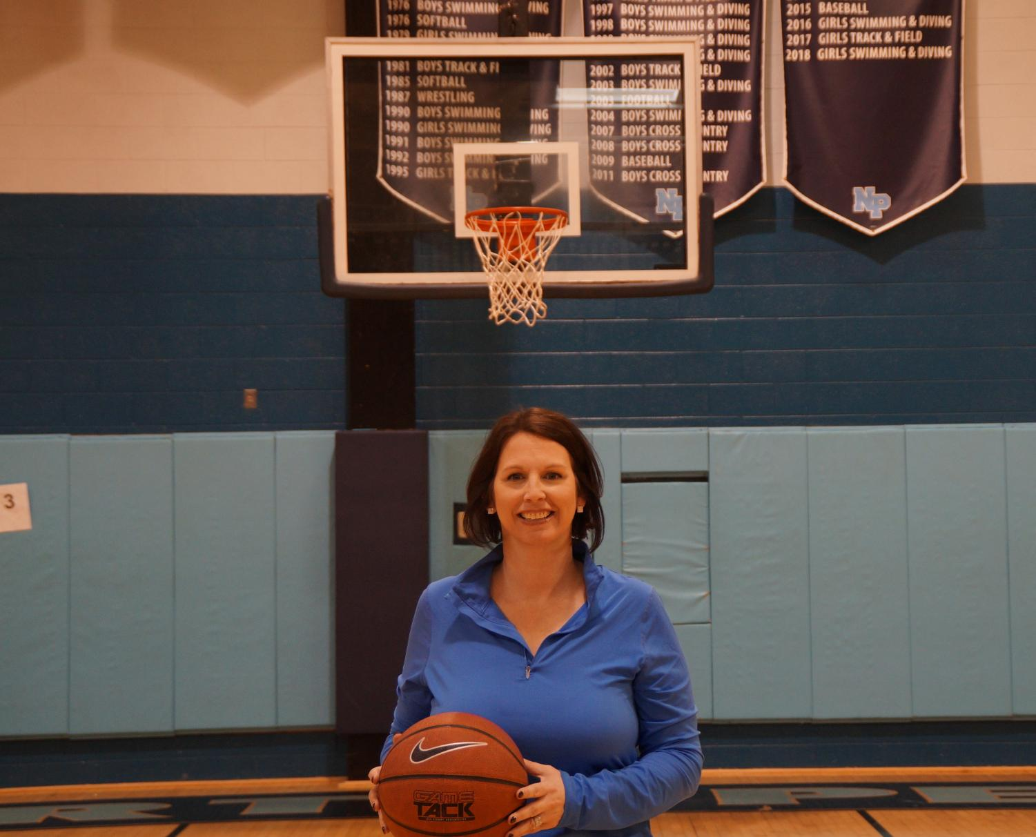 Coach Carangi took over as the girls basketball head coach and led the team back to the playoffs.