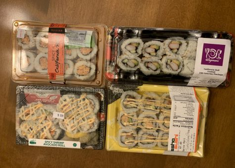 What grocery store has the best to-go sushi rolls?
