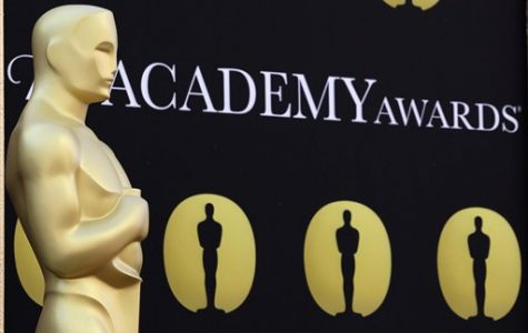 An Oscar statue stands on the red carpet outside the Kodak Theatre as preparations continue for the 82nd Academy Awards in Los Angeles, Calif., on Friday, March 5, 2010. The Academy Awards will be held on Sunday. (AP Photo/Amy Sancetta)